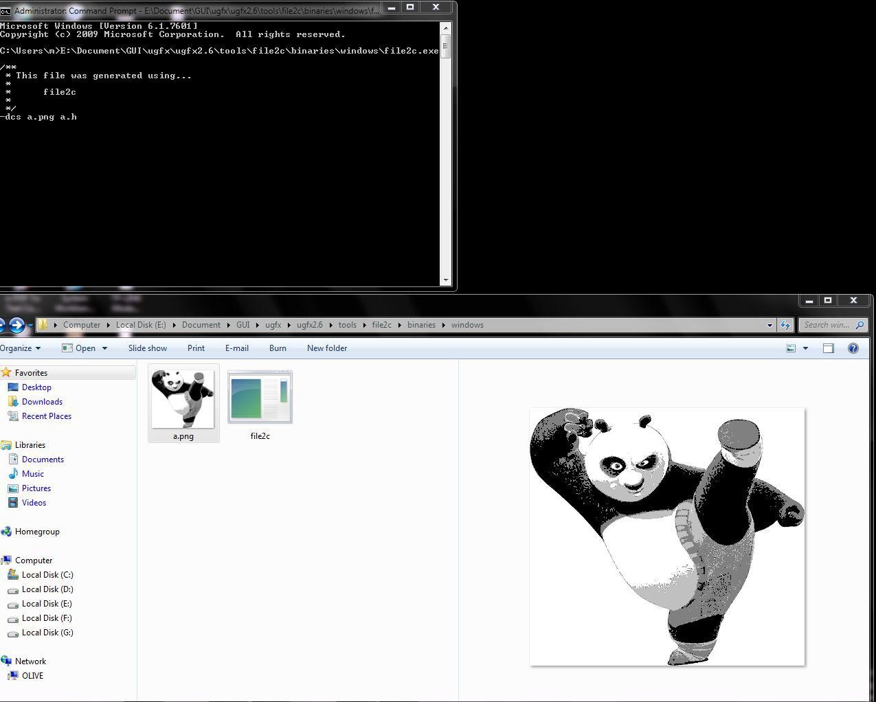 File2c usage - Support - µGFX Community